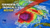 Tormenta Tropical Néstor se forma en el Golfo