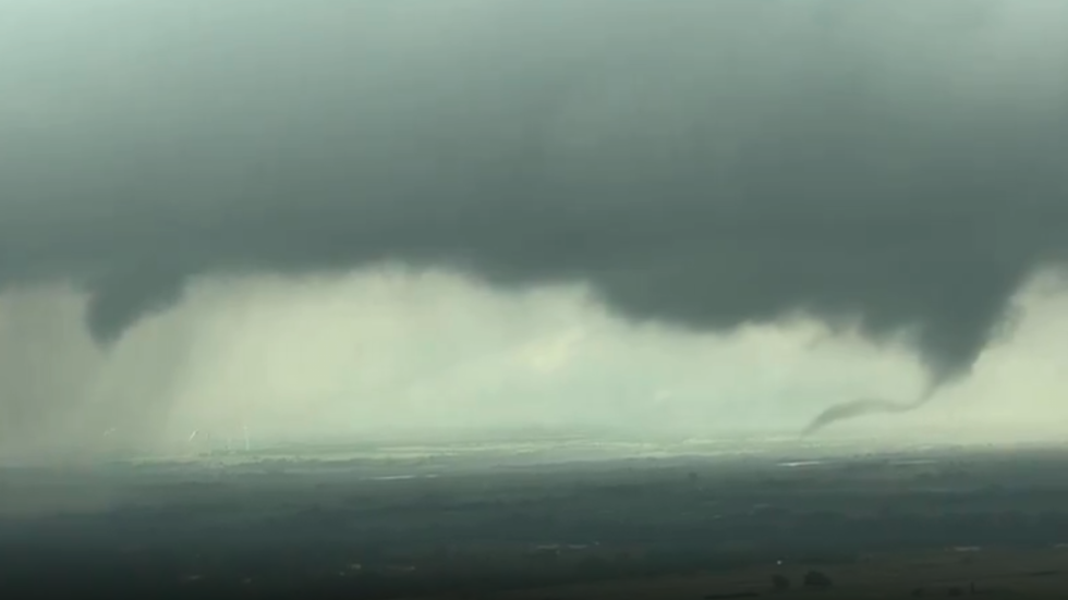 Several tornadoes have touched down in OK, TX, KS and MO