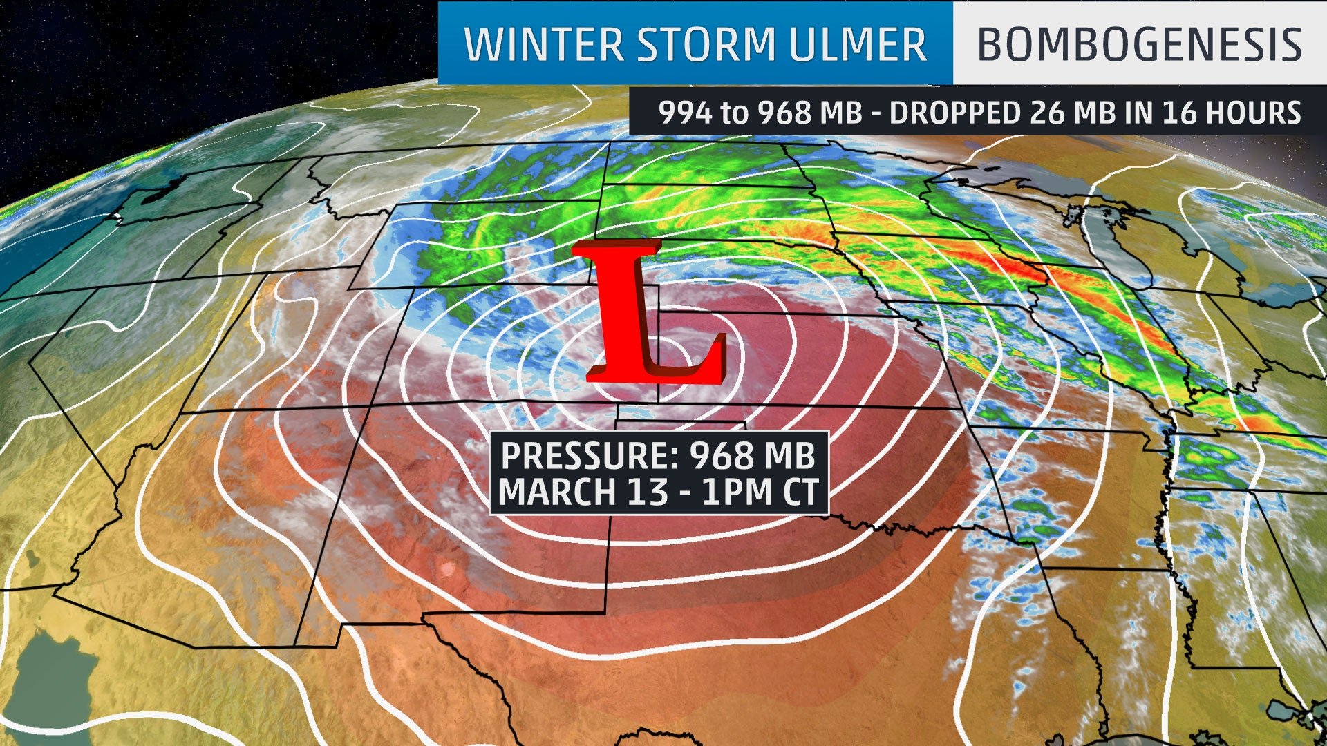4 Jaw-Dropping Facts About Winter Storm Ulmer