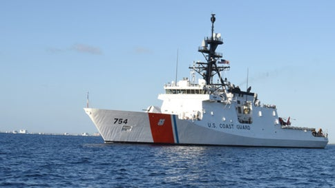 u s coast guard members working without pay search for missing