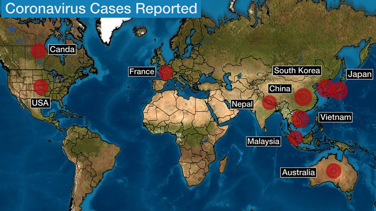 Coronavirus In Us Map - Usa Maps