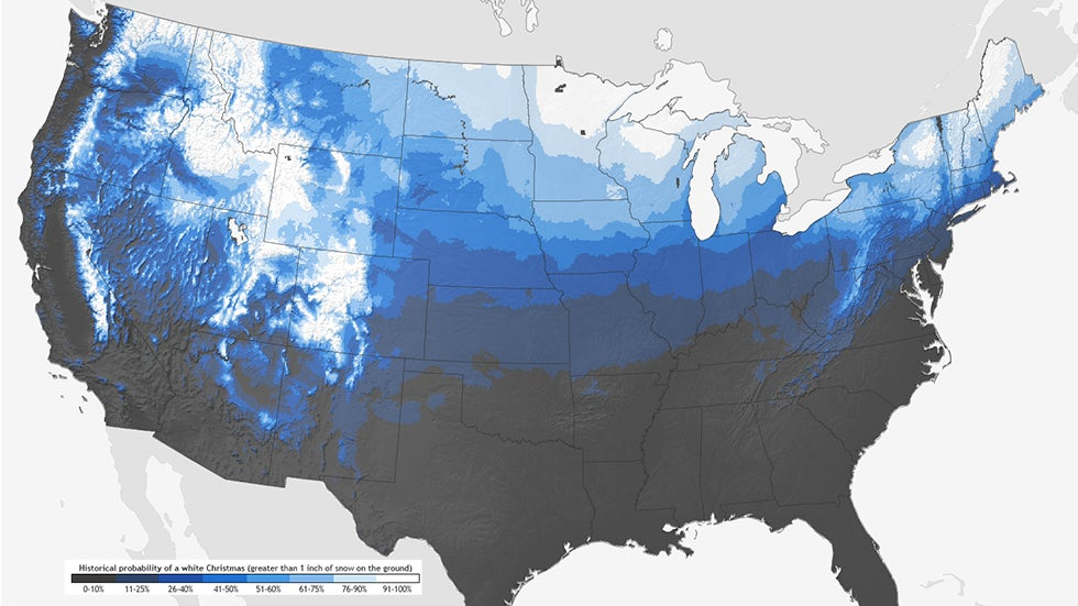 White Christmas 2018 Forecast What Are Your Chances Of Seeing Snow On The Ground On Christmas