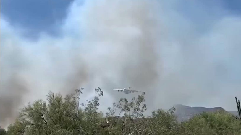 Arizona Wildfires Force Evacuations, Shut Down Interstate