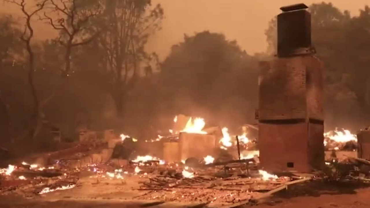 Paradise, CA Population Plummets After Wildfire
