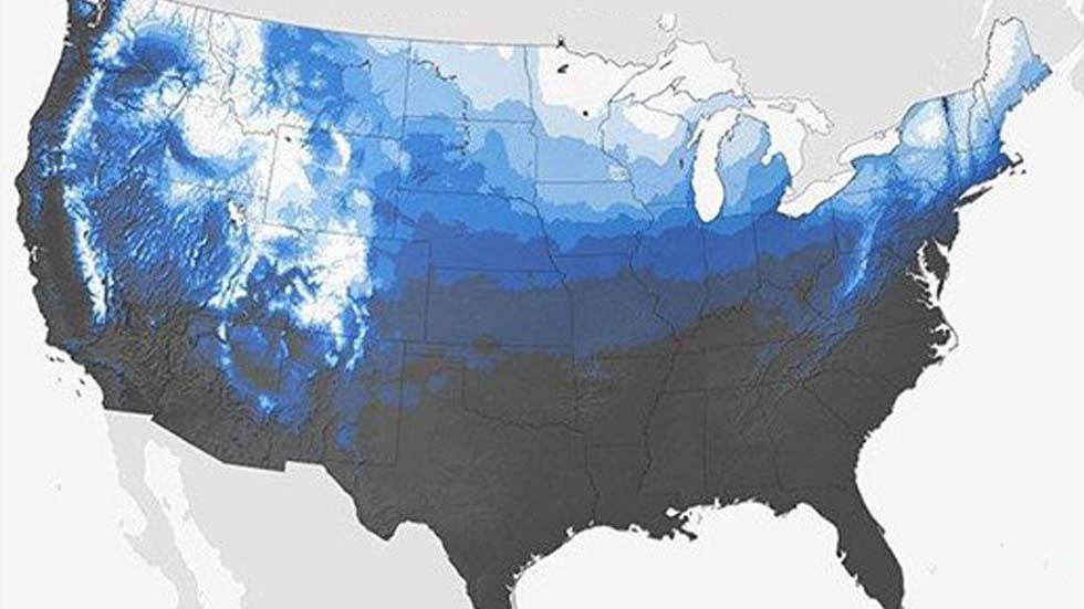 White Christmas 2018 Forecast