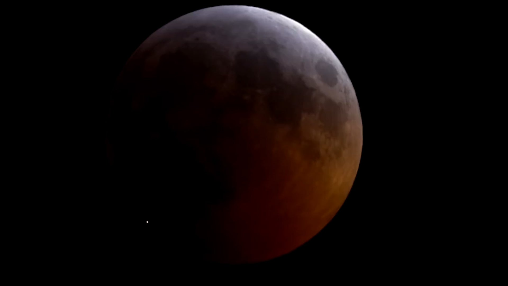 Super Blood Wolf Moon Hit by Meteoroid