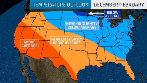Winter 2019-20 Outlook: Colder Than Average in North, East; Warmer Than Average in South, West