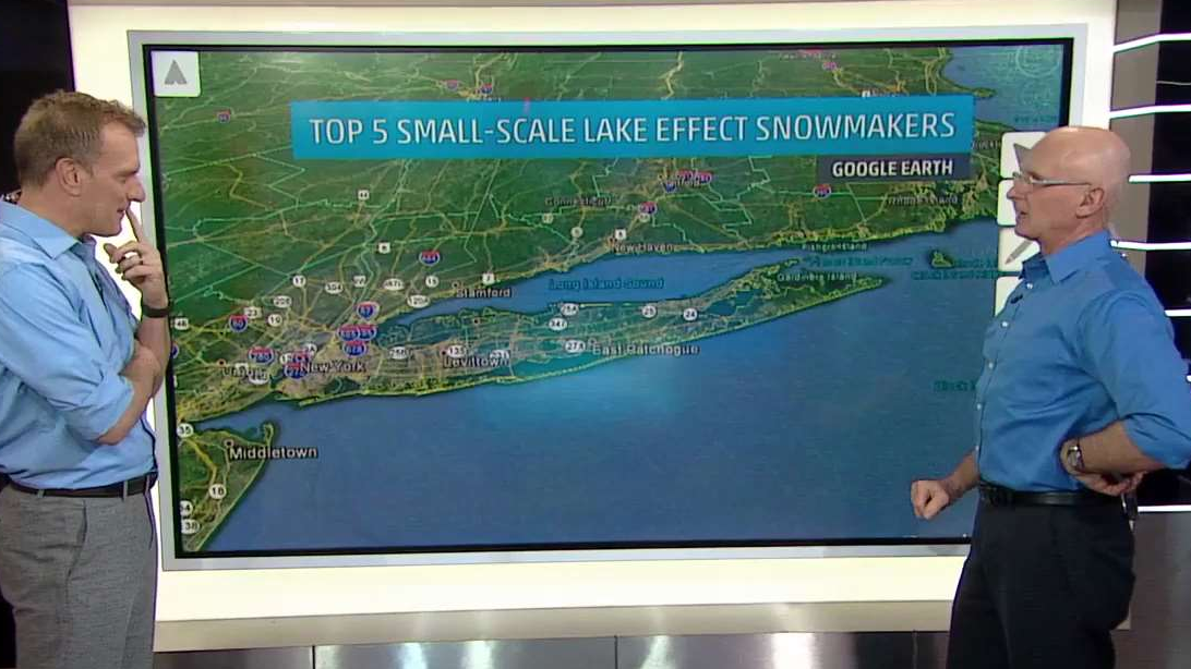 Top Five Small Lake-Effect Snowmakers