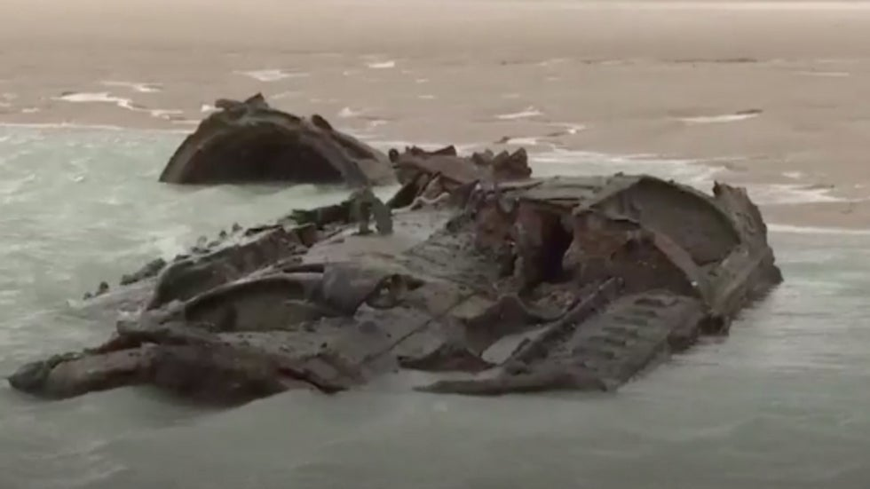 German U-boat from WWI Resurfaces off Coast of Northern France