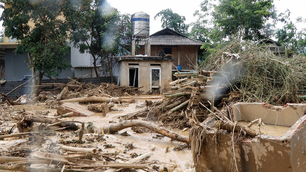 Flooding, Mudslides Triggered by Tropical Storm Son Tinh Kill At Least 10 in Vietnam