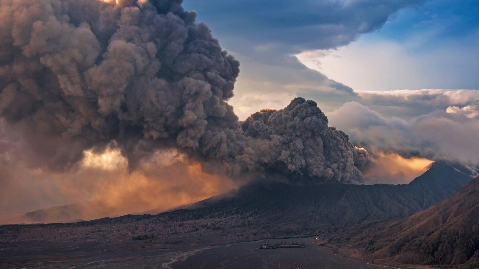So kommt es zum Vulkanausbruch