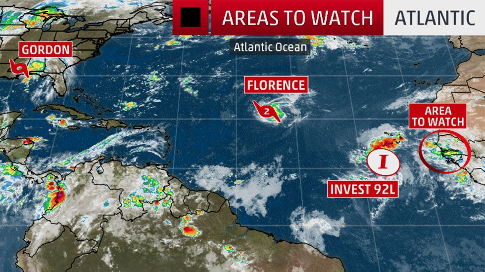 two more potential tropical systems on the heels of