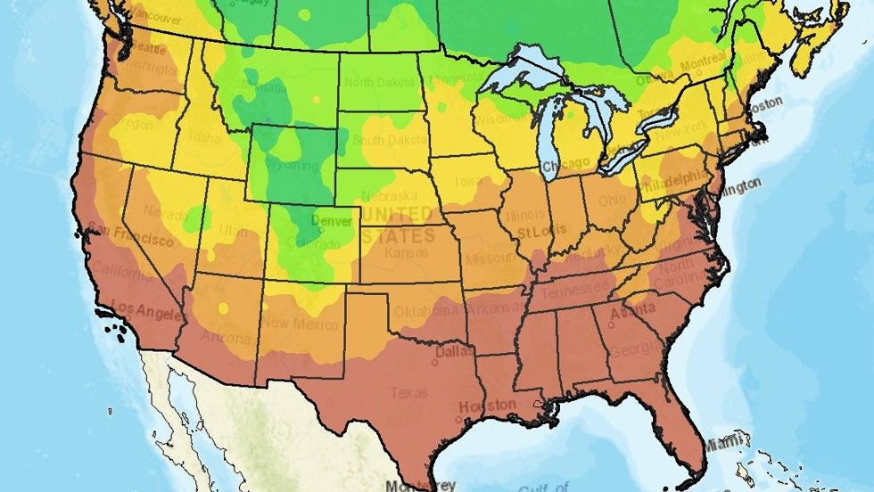 Prevalence Of Some Food Allergies Higher In Cities Go Dairy Free: Pollen Count Map Usa At Codeve.org