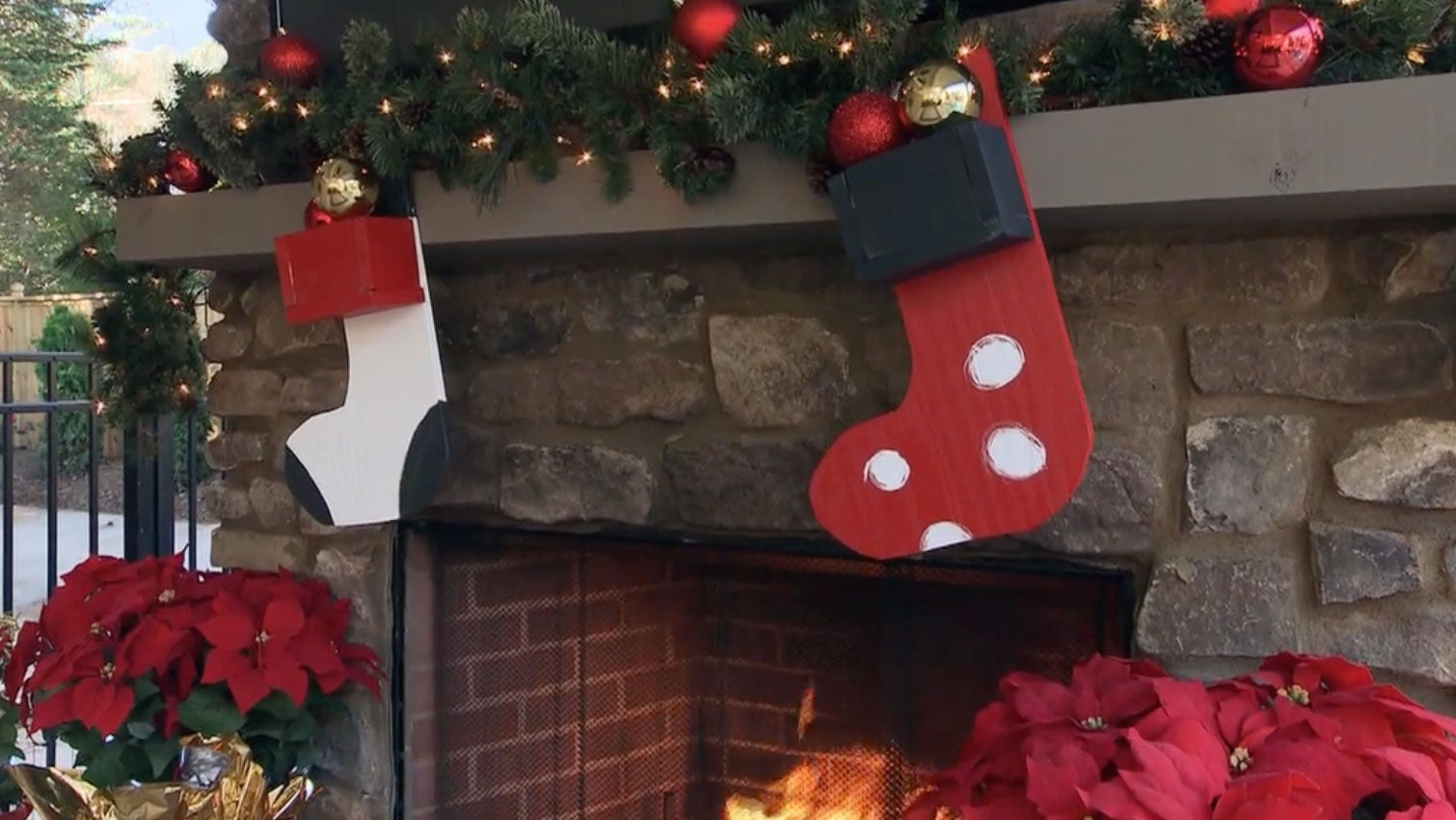 Create a Wooden Stocking for Your Mantle