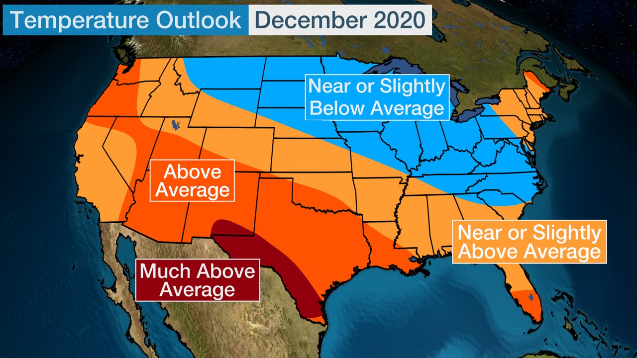 Winter 2020 21 Outlook: Cold December Could Be Followed by Mild