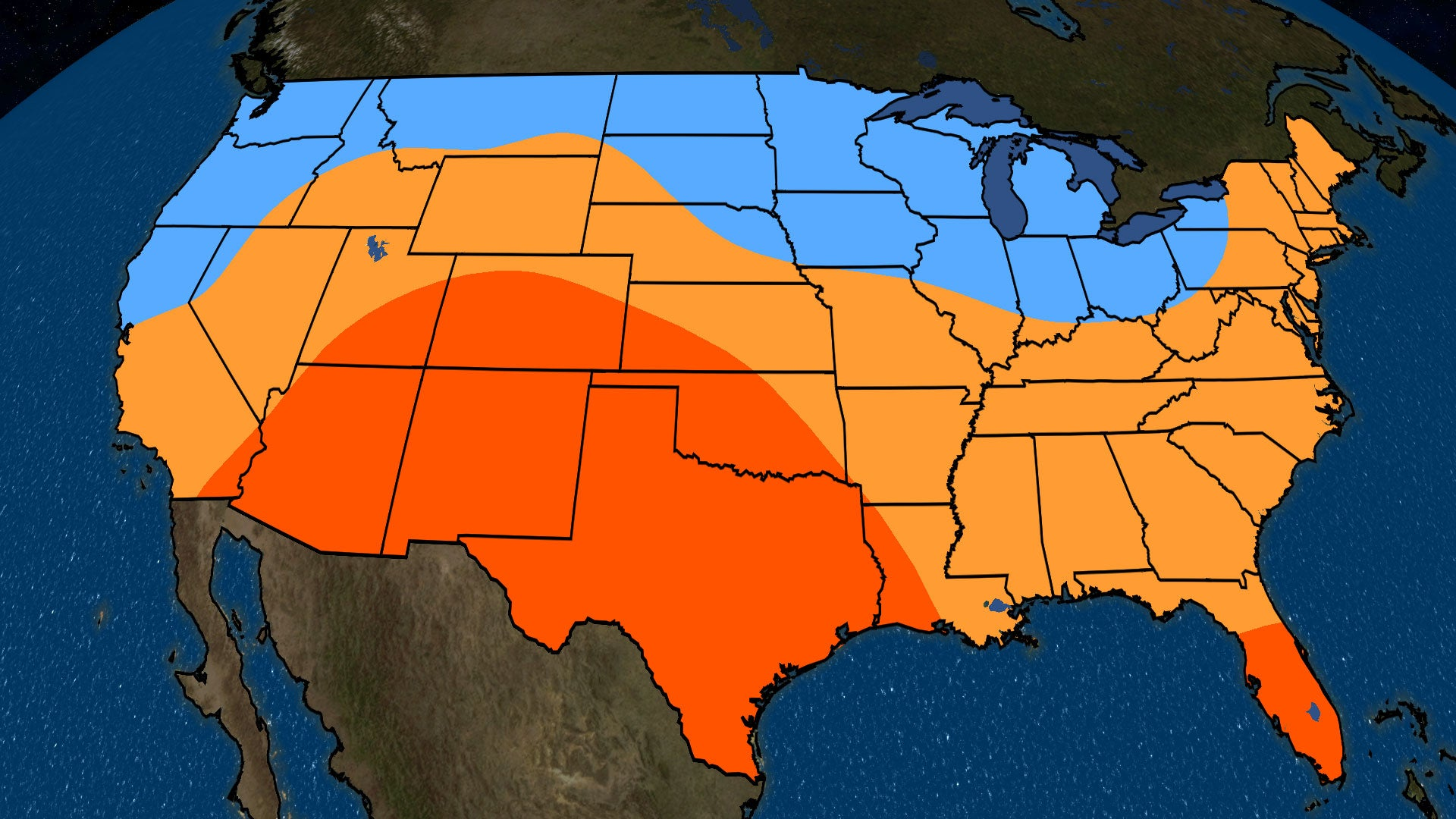 Weather Map Of The United States With Temperatures Cocorahs - 10 day weather map of western us