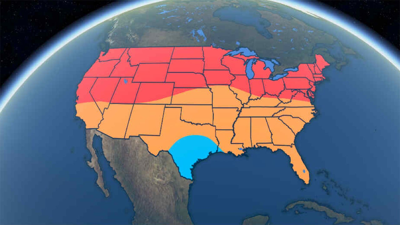 Summer  Outlook Warm Temperatures For Much Of The US The - Us weather outlook map
