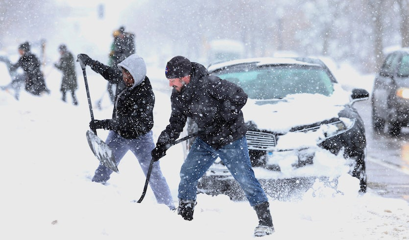 April Snowstorm for the Ages: Upper Midwest Gets Plastered