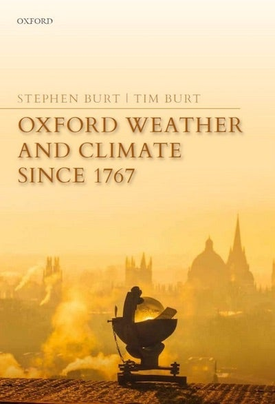 """Cover of """"Oxford Weather and Climate Since 1767"""""""