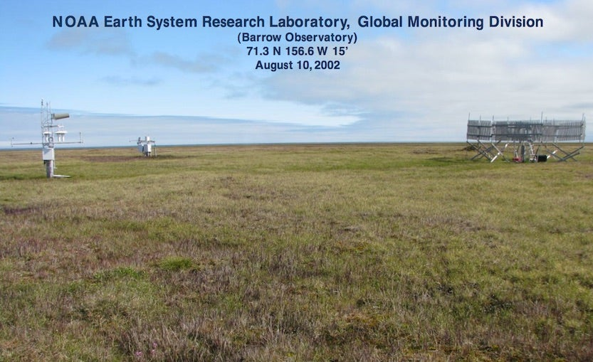 Climate Reference Network site for Utqiaġvik (Barrow), Alaska