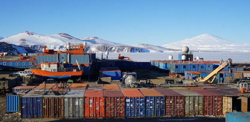 The Italian Mario Zucchelli Station, Antarctica