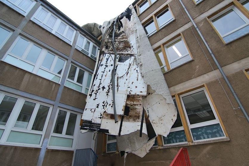 Friederike damage