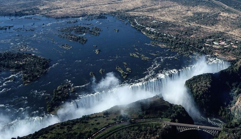 Drought Heat And Victoria Falls A Climate Story With A