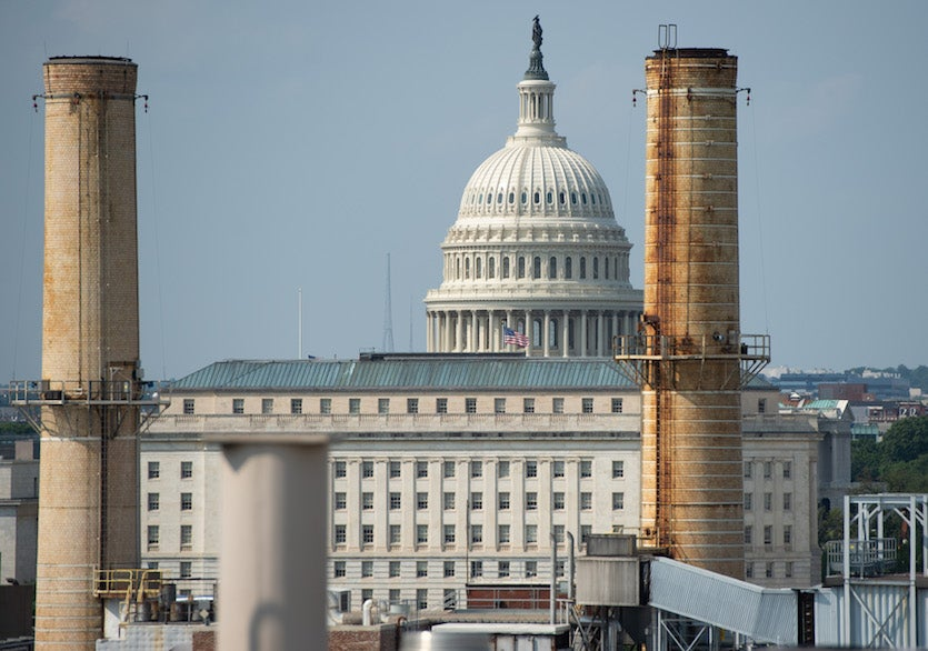 Capitol Power Plant in Washington, DC, August 2018