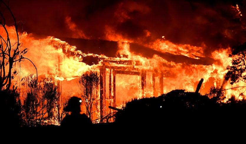Seemorerocks More On The N California Wildfires