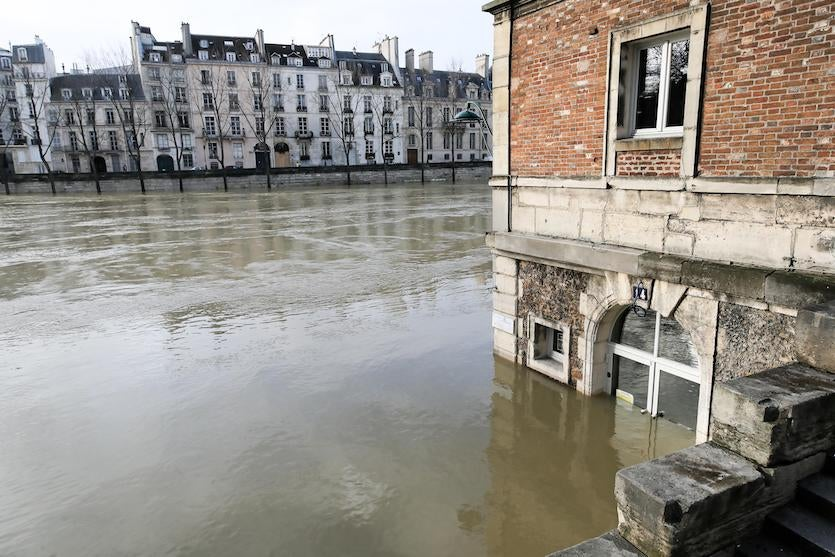 Flooding in France, 1/26/2018