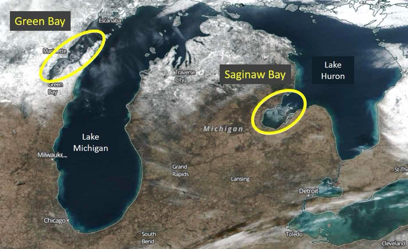 Picture of: Icing On The Lake That Time Of The Season For Great Lakes Ice Cover Weather Underground
