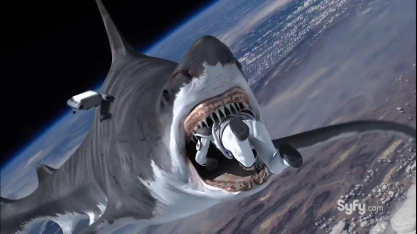 Sharknado in space