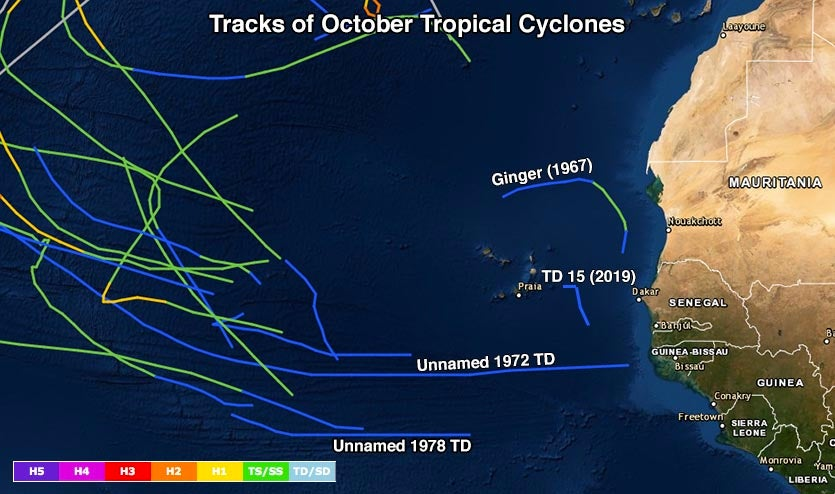 Historical hurricanes