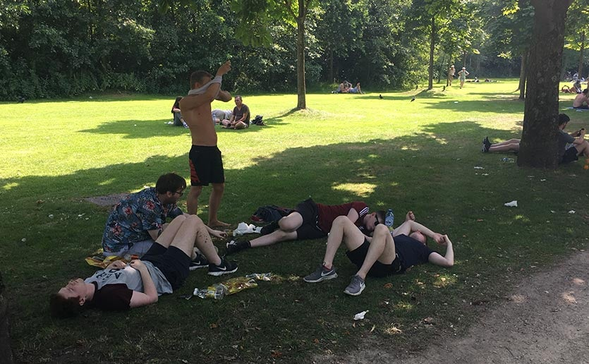 Amsterdam heat