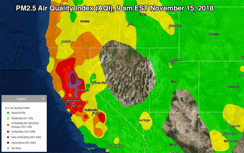 Air-Fouling Smoke Continues across California; 2009 Report ... on california congressional district map, california heat map, california lyme map, california grey map, california radiation map, california vortex map, california fishing lakes map, california wildfires current, california white map, california sea level map, california united states map, california fires from space, california groundwater map, california district court map, california fracking map, california salt map, california meth map, california smog map, california ley lines map, california flooding map,