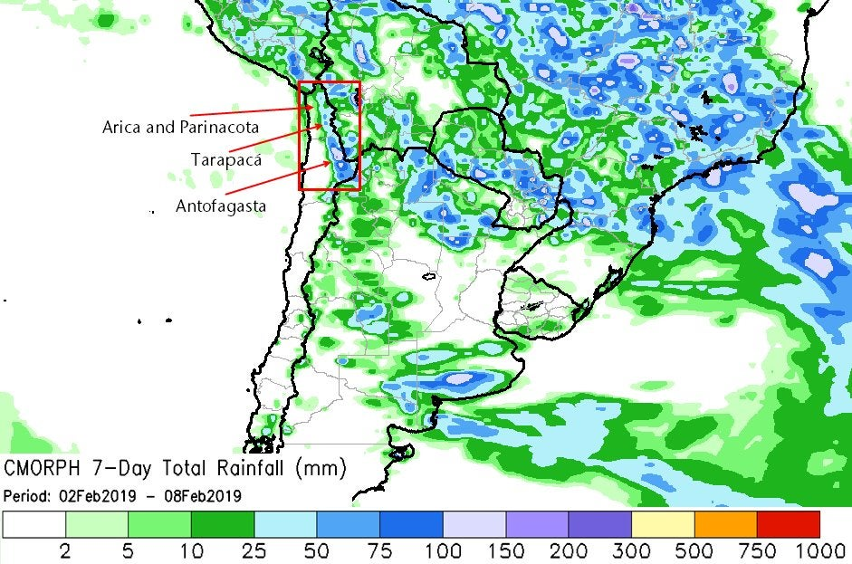 Argentina rain