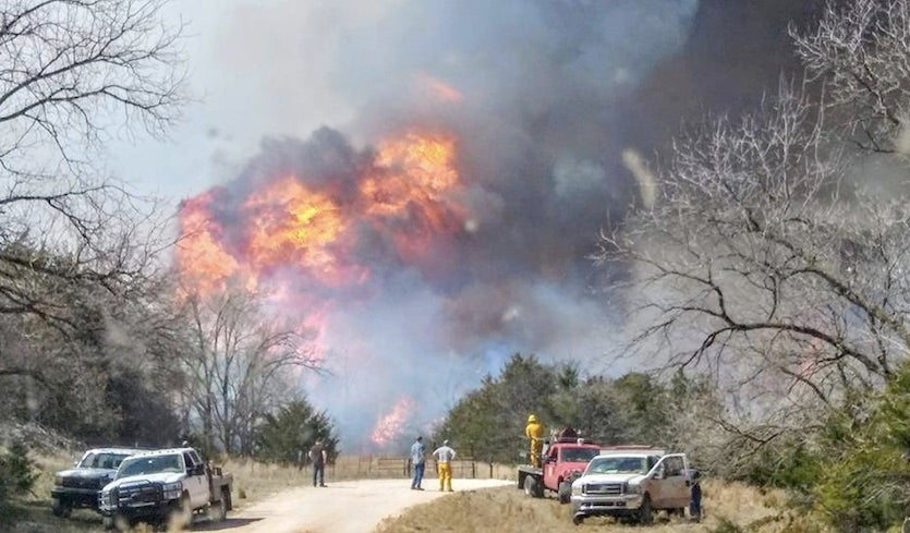 Why Is Oklahoma Burning? by Bob Henson | Category 6 | Weather ...