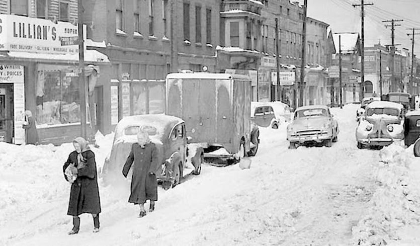 the great appalachian storm of thanksgiving week 1950 by christopher
