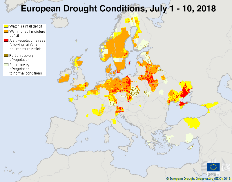 Europe drought
