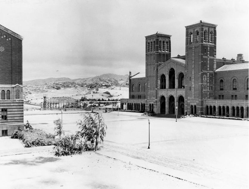 UCLA snow