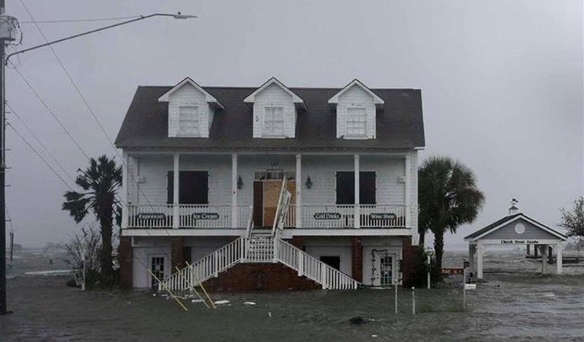 Florence's 1-in-100-Year Storm Surge Breaks All-Time Records by Dr. Jeff Masters | Category 6 | Weather Underground