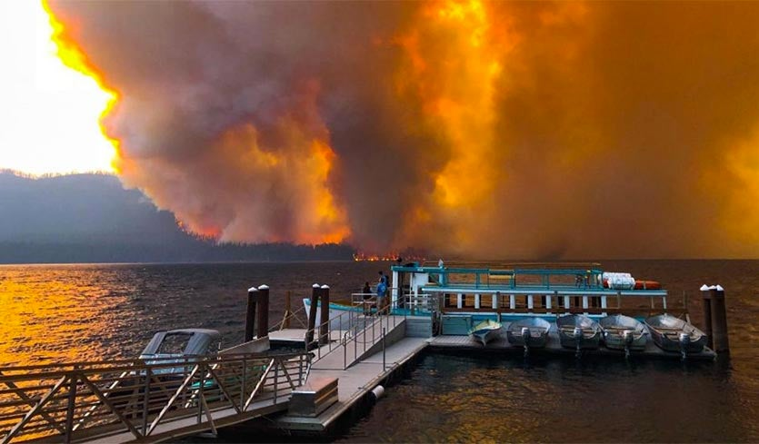Fire Closes Much of Glacier Park