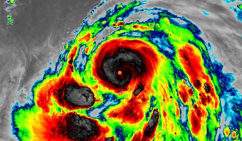 Category 5 Hagibis Heads Towards Japan; 2 Atlantic Systems ...