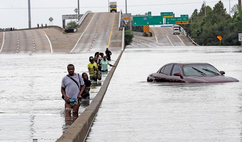 Flood Calamity Continues In Houston And Beyond Harvey