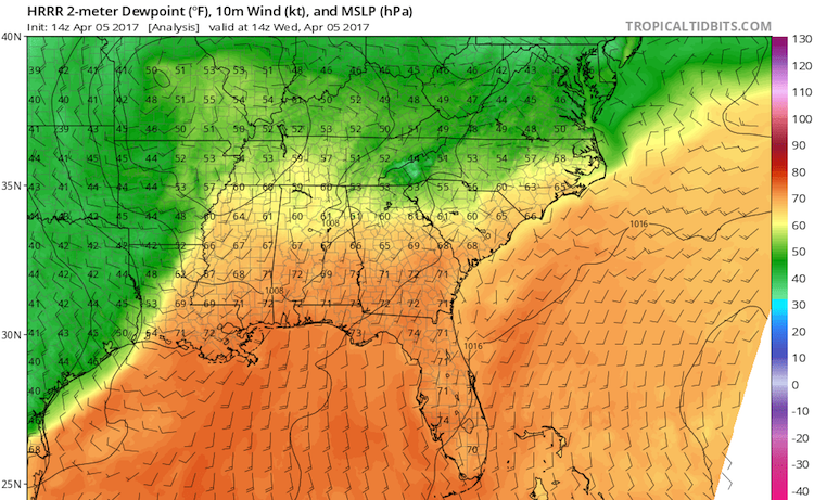 Us Dewpoint Map Dell Stumbles Upon Free Cooling Capability With
