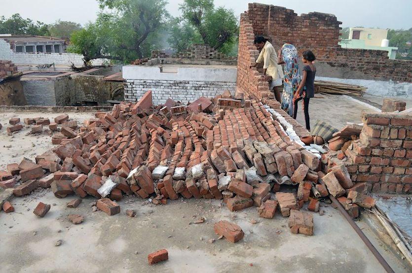 India wind damage