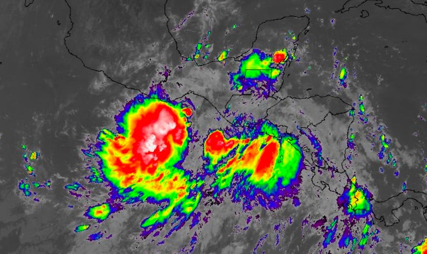 Infrared image of CAG at 1520Z 10/15/19