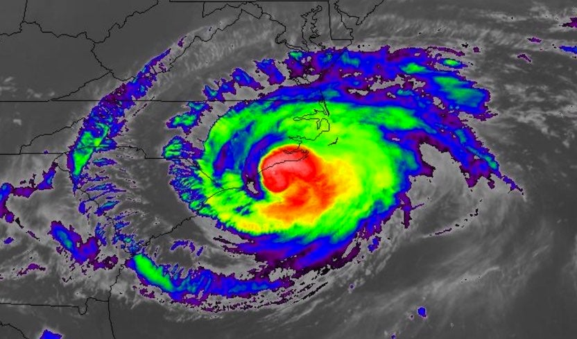 In Florence's Grip, No Relief for North Carolina by Bob Henson | Category 6 | Weather Underground