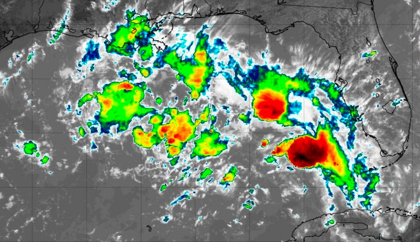 Disturbed weather in Gulf of Mexico, 1735Z 9/14/19
