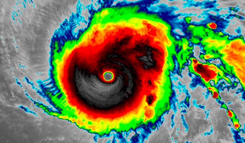 Super Typhoon Halong (Weather Underground)